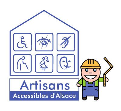 Logo : Artisans Accessibles d'Alsace