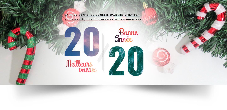 Le CEP vous souhaite une bonne année 2020